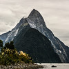 Snowy Mt. Mitre (because the peak looks like Bishops hat) , Milford Sound, South Island, New Zealand