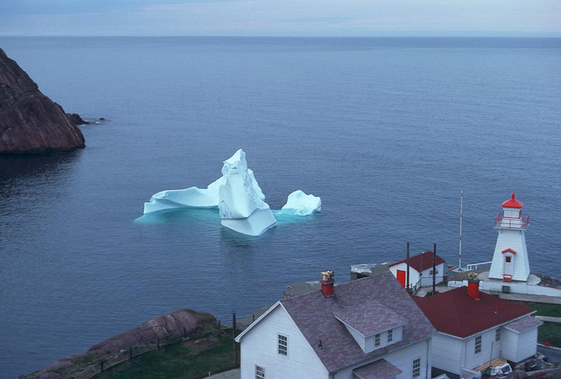 Ice Berg in the Narrows