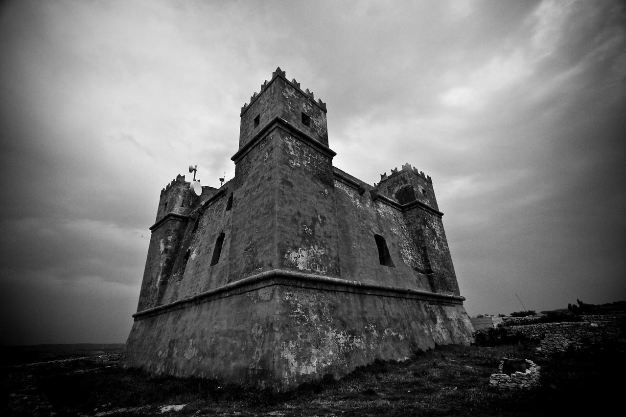 The Red Tower, Marfa Peninsula
