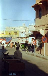 Sidestreet of the Djem el-Fnaa, Marrakech