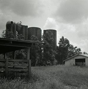 Abandoned Silos, Loxley, Alabama