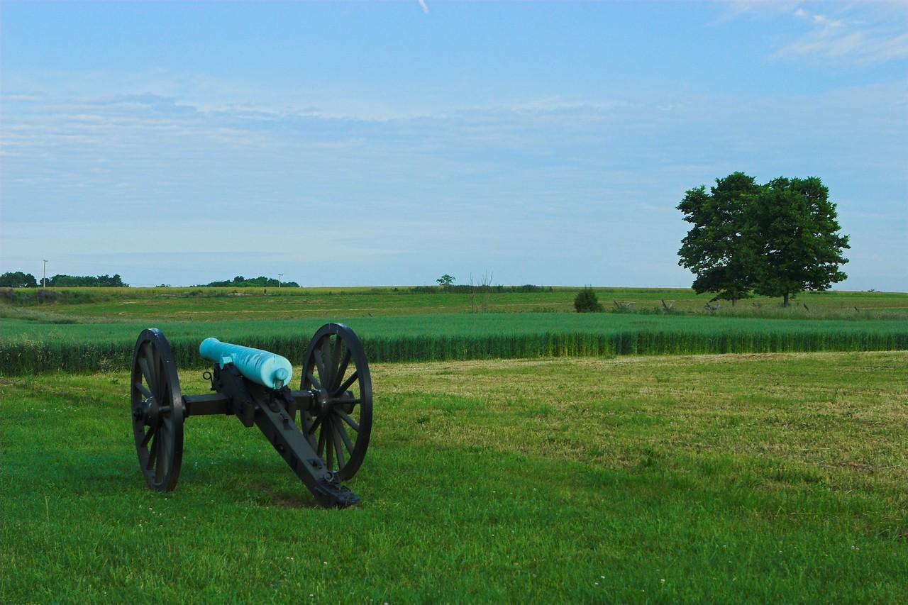 """The Bloody Cornfield"", at dawn, Antietam"