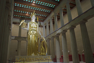 Athena Parthenos, The Parthenon, Nashville