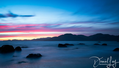Sunset from Marshall Beach   San Francisco, CA