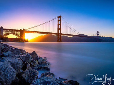 Golden Gate Bridge at Sunset
