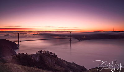 Sunrise - January 14, 2017 from Hawk Hill