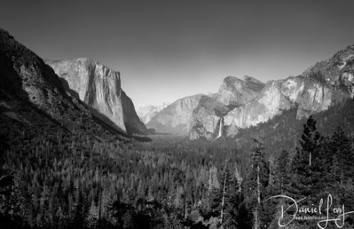 Tunnel View B&W - July 2017 - Yosemite National Park, CA