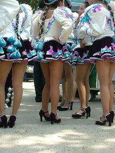 Legs. Bolivian Parade