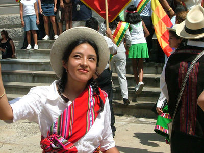 Bolivian Day Parade, 2005