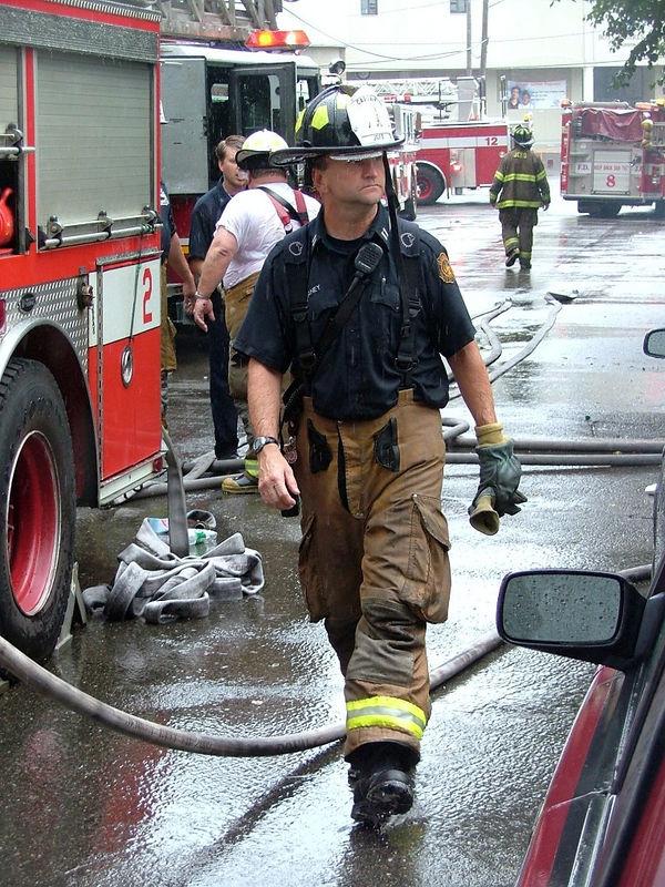 Fire on Grove Street, 2005