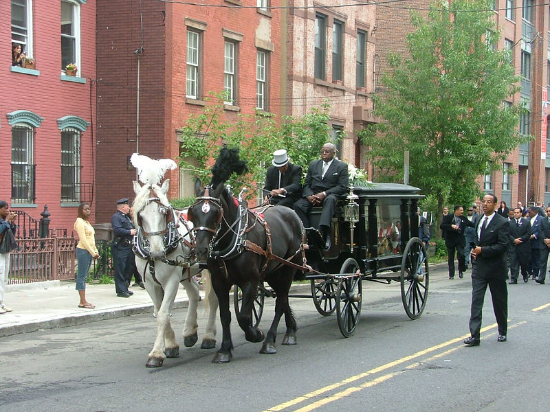 Mayor Cunningham's Funeral Procession