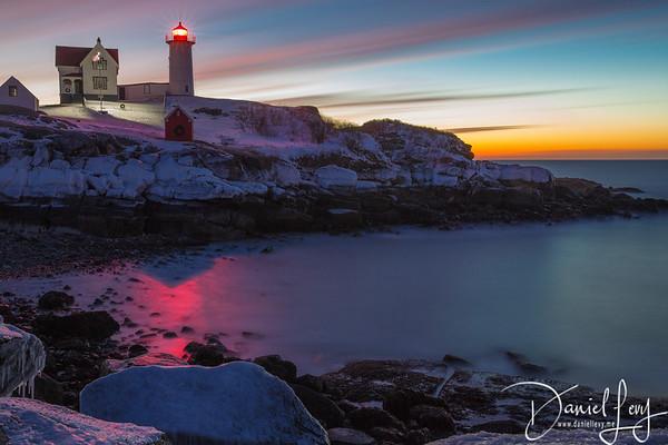 Nubble Lighthouse - 10 Minutes Capture
