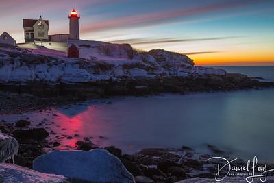 Nubble Lighthouse - 10 Minutes Capture