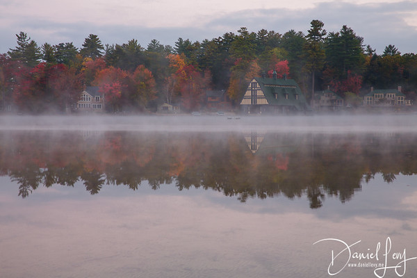 Foggy Autumn Reflections