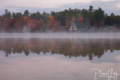 Foggy Autumn Reflections