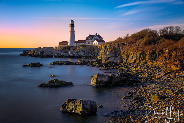 Portland Head Lighthouse at Dawn