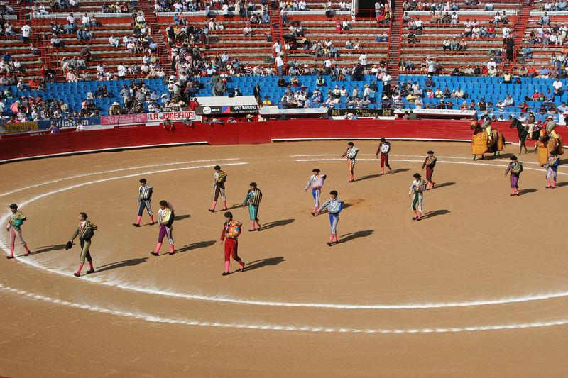 The Entry of the Matadores, Banderilleros, and Picadores into the Arena.