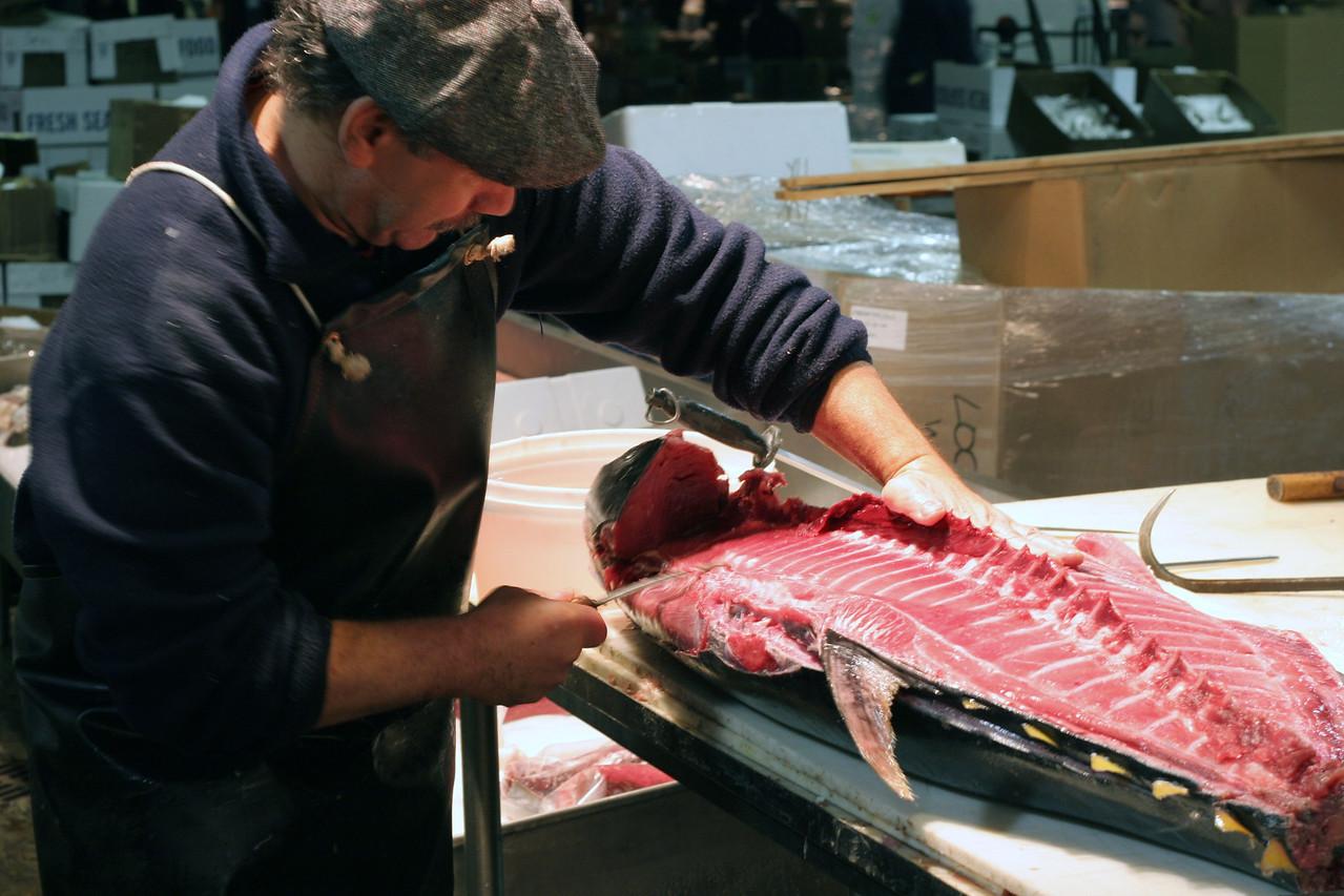 Tuna Prep, Fulton Fish Market