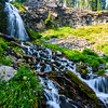 We hiked to the lovely Plaikni Falls in Crater Lake National Park.