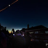 This montage was made from images shot with a second camera setup, using a wide-angle lens and an interval timer.  It shows the progression of the stages of the eclipse.  Your trusty photographer can be seen with his signature hat in the foreground.  Note the image on my other camera's display shows the corona during totality.