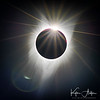 Glorious diamond ring effect at the end of totality.
