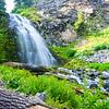 Plaikni Falls in Crater Lake National Park.