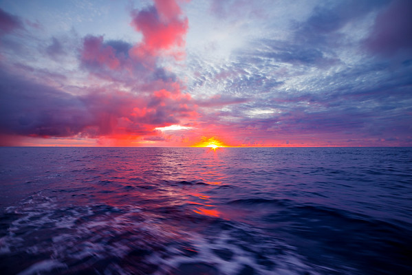 Pacific Ocean Sunset-1
