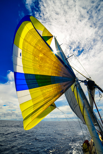 Sailboat sunny spinnaker-1