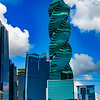 "The F&F Tower, known as the ""corkscrew building"", is one of the stranger buildings to adorn Panama City's skyline."
