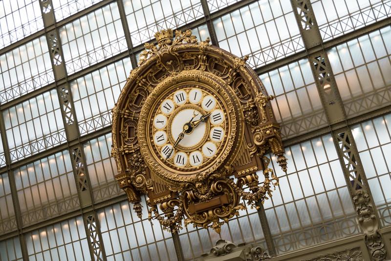 Gare d'Orsay Clock - Musée d'Orsay