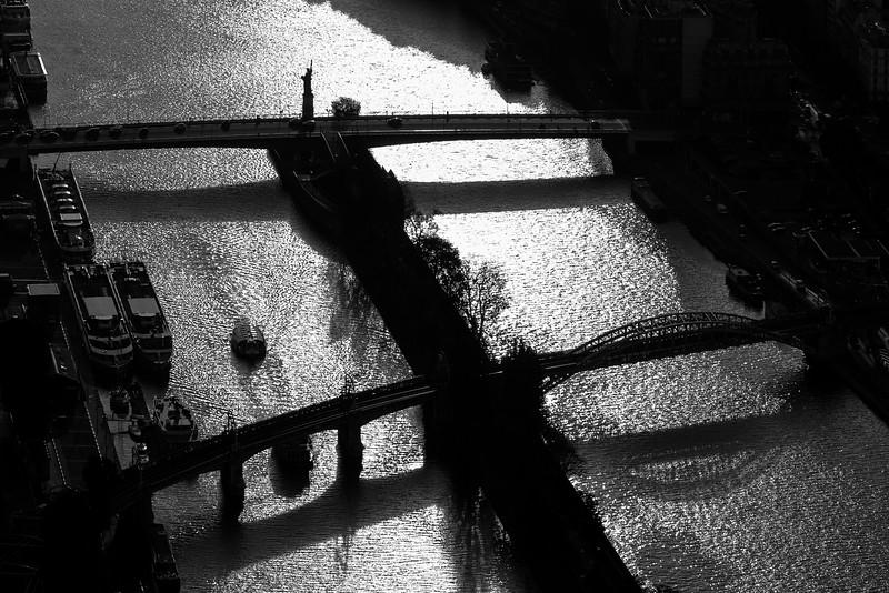 Lady Liberty on the Seine