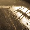 Lady Liberty on the Seine - Sepia