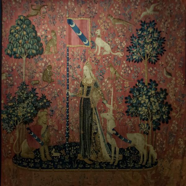 La Dame a la Licorne - The Lady and the Unicorn - Musée de Cluny