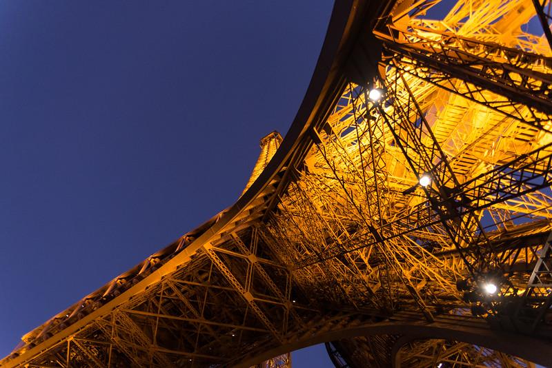 Eiffel Tower in Gold