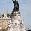 Place de la Republique - A week before the Terrorist Attacks of 11/13
