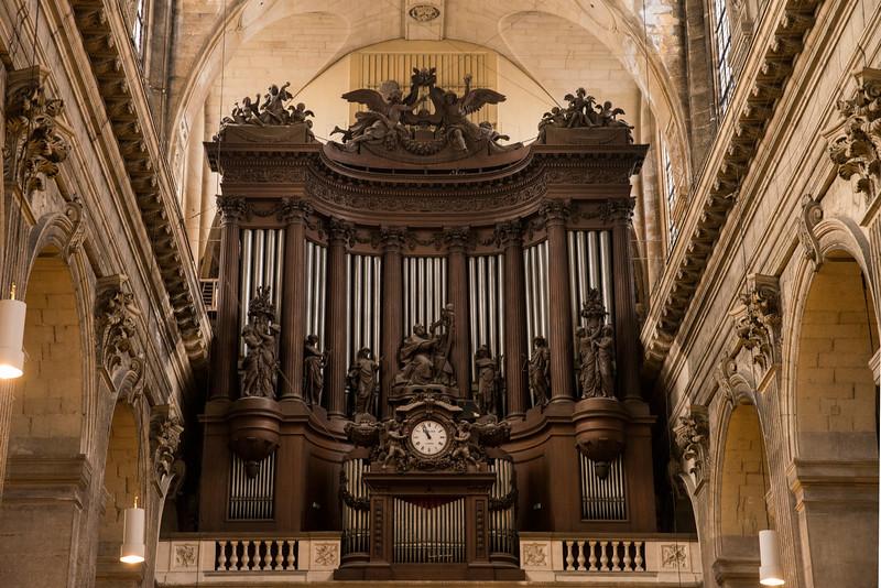 Eglise Saint Sulpice - Organ