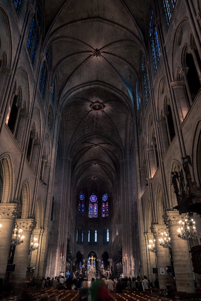 Inside Notre Dame Cathedral