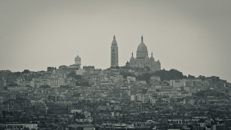 Sacre Coeur in the City
