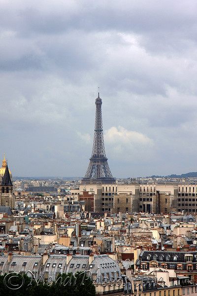 Eiffel Tower, Paris, France, July 2009.