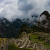 looking at Machu Picchu