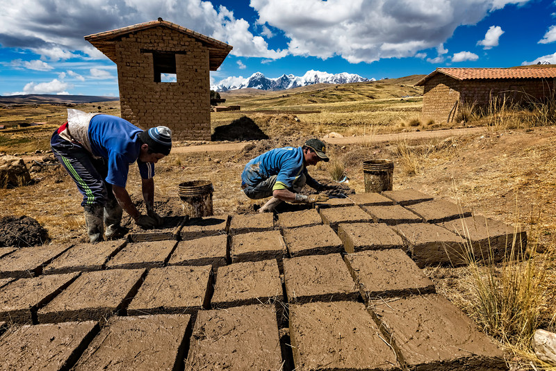 Making Adobe (mud Bricks)