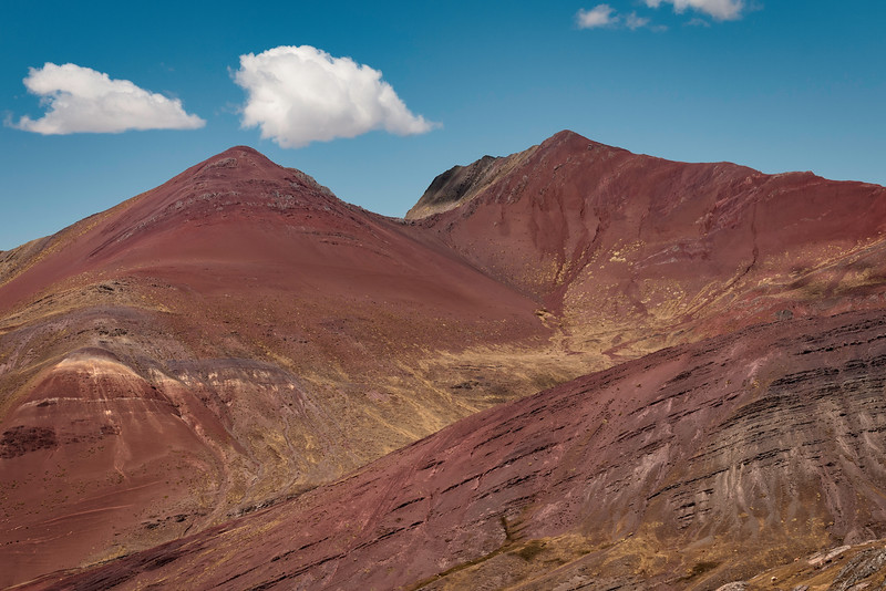 Vinicunca Mountain Range