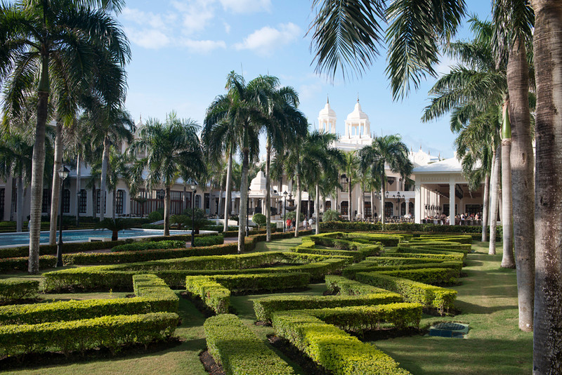 Riu Palace Resort grounds, Punta Cana, Dominican Republic