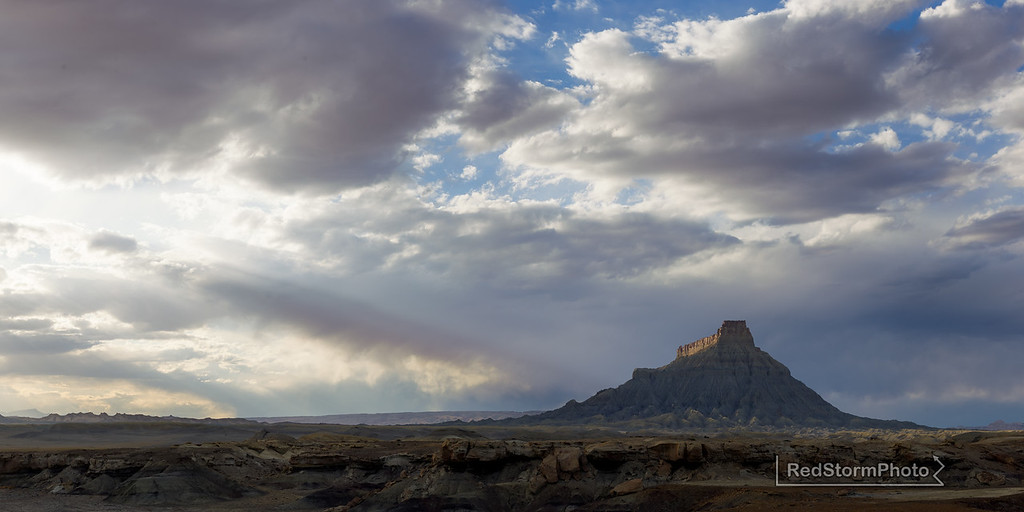 Factory Butte, Southern Utah