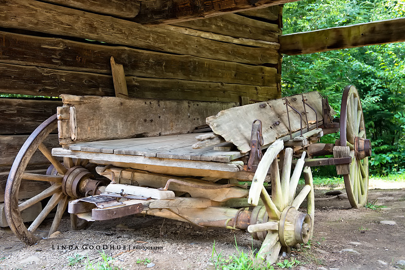 Cades Cove Wagon