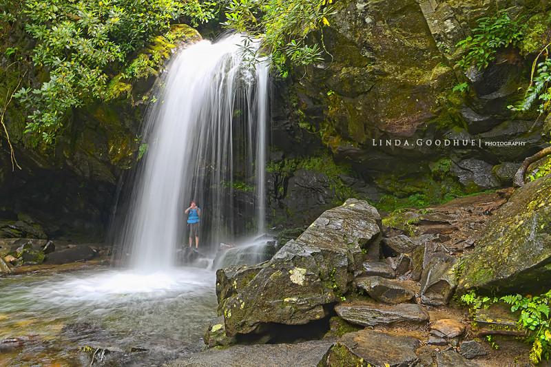 Trillium Gap Falls