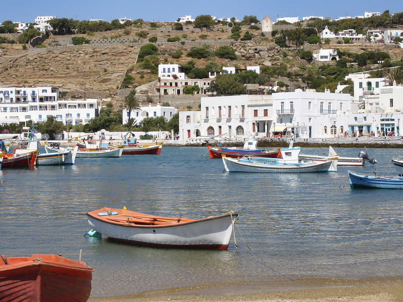 Mykonos is one of the most cosmopolitan islands in Greece, having become increasingly popular with mass tourism. It is known for its diverse and intense nightlife as evidenced by a vast number of bars and nightclubs. Mykonos is also known for its sandy beaches.
