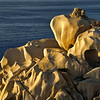 Rocks at Capo Testa  shortly before sunset