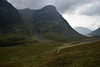 Glen Coe , valley looking West  Argyll, Scotland