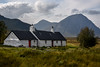 Black Rock Cottage, Glen Coe valley, Argyll, Scotland